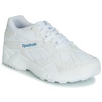 Cipők Női Rövid szárú edzőcipők Reebok Classic AZTREK Fehér / Kék