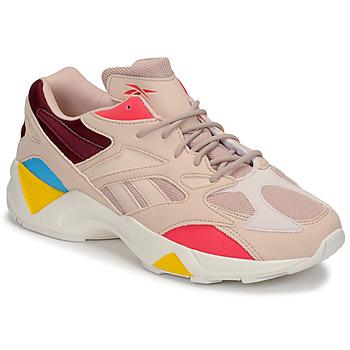Cipők Női Rövid szárú edzőcipők Reebok Classic AZTREK 96 Bőrszínű