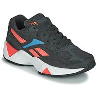 Cipők Női Rövid szárú edzőcipők Reebok Classic AZTREK 96 Fekete  / Korall