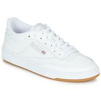 Cipők Rövid szárú edzőcipők Reebok Classic CLUB C 85 Fehér