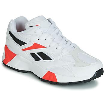 Cipők Fiú Rövid szárú edzőcipők Reebok Classic AZTREK 96 J Fehér