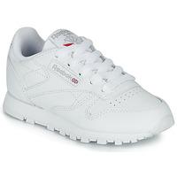 Cipők Gyerek Rövid szárú edzőcipők Reebok Classic CLASSIC LEATHER C Fehér