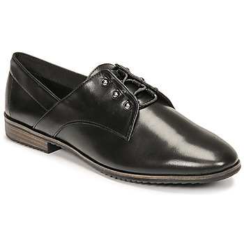 Cipők Női Oxford cipők Tamaris LYNA Fekete