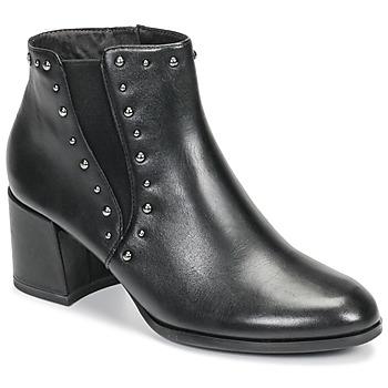 Cipők Női Bokacsizmák Tamaris LOUZI Fekete