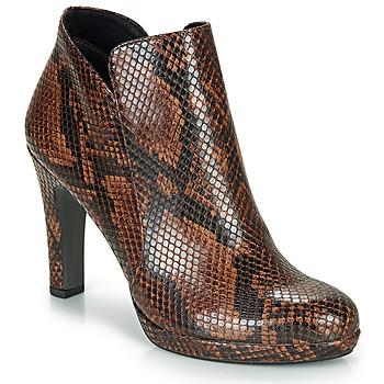 Cipők Női Bokacsizmák Tamaris LYCORIS Barna / Piton