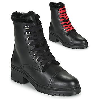 Cipők Női Csizmák Unisa IRACHE Fekete