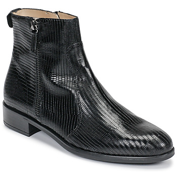 Cipők Női Csizmák Unisa BRAS Fekete