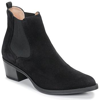 Cipők Női Bokacsizmák Unisa GREYSON Fekete