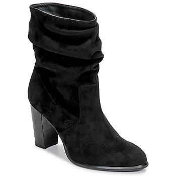 Cipők Női Bokacsizmák Unisa ULANO Fekete