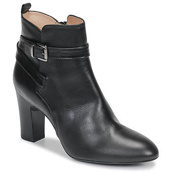 Cipők Női Bokacsizmák Unisa UMBRIA Fekete