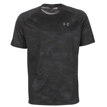 Ruhák Férfi Rövid ujjú pólók Under Armour TECH 2.0 SS PRINTED Fekete