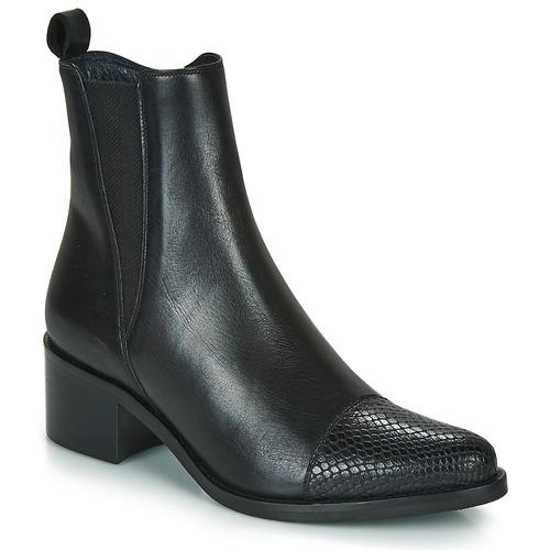 Cipők Női Bokacsizmák Myma PETULA Fekete