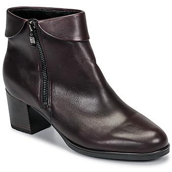Cipők Női Bokacsizmák Ara 16913-67 Barna