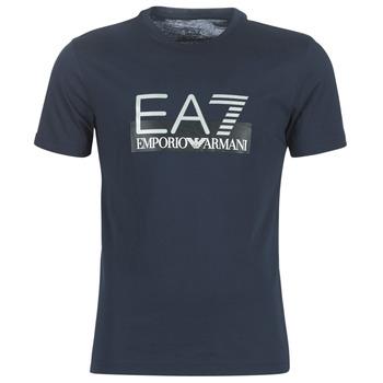 Ruhák Férfi Rövid ujjú pólók Emporio Armani EA7 GPT81-PJM9Z-1554 Tengerész