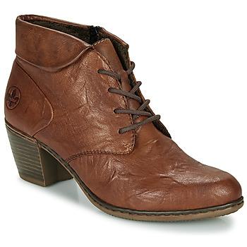 Cipők Női Bokacsizmák Rieker Y2131-24 Barna