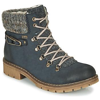 Cipők Női Csizmák Rieker Y9131-16 Kék