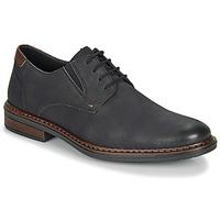 Cipők Férfi Oxford cipők Rieker 17600-03 Fekete