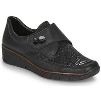 Cipők Női Oxford cipők Rieker 537C0-02 Fekete