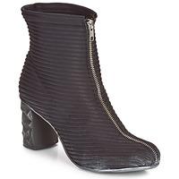 Cipők Női Bokacsizmák Papucei TEO BLACK Fekete