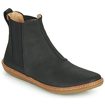 Cipők Női Csizmák El Naturalista CORAL Fekete