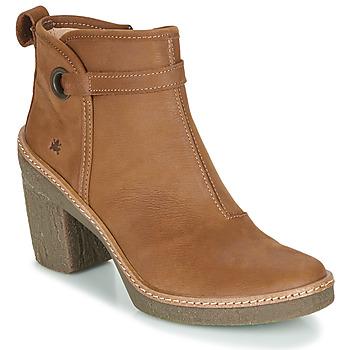 Cipők Női Bokacsizmák El Naturalista HAYA Barna