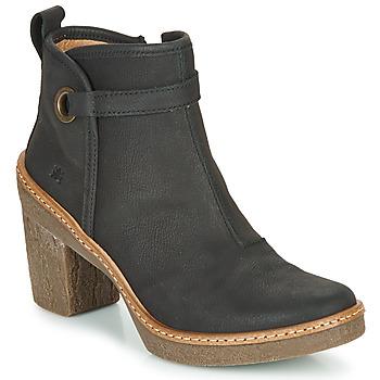 Cipők Női Bokacsizmák El Naturalista HAYA Fekete