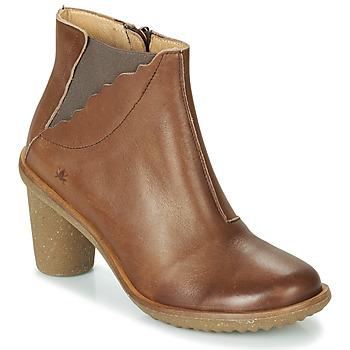 Cipők Női Bokacsizmák El Naturalista TRIVIA Barna