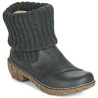 Cipők Női Csizmák El Naturalista YGGDRASIL Fekete