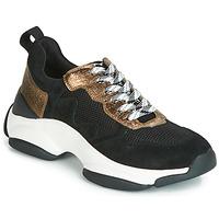 Cipők Női Rövid szárú edzőcipők Mam'Zelle HELIUM Fekete  / Bronz