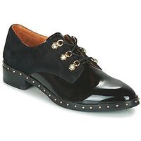 Cipők Női Oxford cipők Mam'Zelle SIROE Fekete