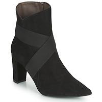 Cipők Női Bokacsizmák Perlato 11327-CAM-NOIR Fekete