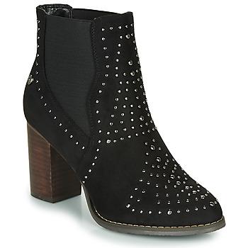Cipők Női Bokacsizmák Xti LOVALO Fekete
