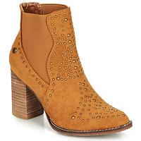 Cipők Női Bokacsizmák Xti AMELIO Teve