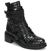 Cipők Női Csizmák Mimmu RIPTILUS Fekete