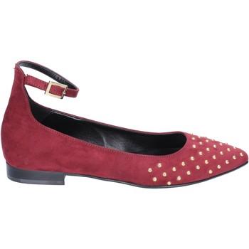 Cipők Női Balerina cipők  Olga Rubini ballerine camoscio Bordeaux
