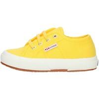 Cipők Gyerek Rövid szárú edzőcipők Superga 2750S0003C0 Yellow Sunflower