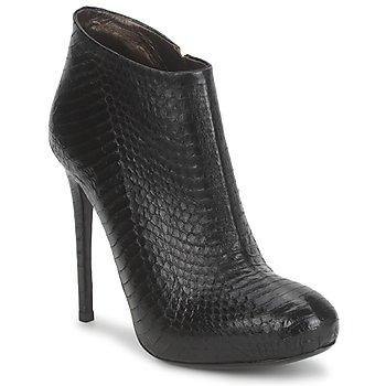 Cipők Női Bokacsizmák Roberto Cavalli TRONCHETTO Fekete