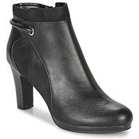 Cipők Női Bokacsizmák Moony Mood FAZIOME Fekete