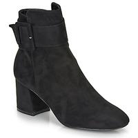 Cipők Női Bokacsizmák Moony Mood FAZIOLE Fekete