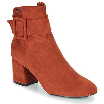 Cipők Női Bokacsizmák Moony Mood FAZIOLE Rozsda