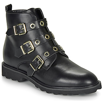 Cipők Női Csizmák Moony Mood FIZANE Fekete