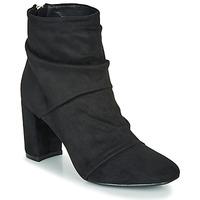 Cipők Női Bokacsizmák Moony Mood FIRETTE Fekete