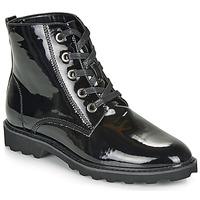 Cipők Női Csizmák Moony Mood FRULIN Fekete