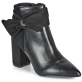 Cipők Női Bokacsizmák Moony Mood FALABEL Fekete