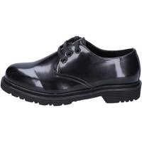 Cipők Női Oxford cipők & Bokacipők Olga Rubini classiche pelle sintetica Nero