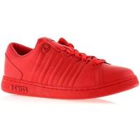 Cipők Női Rövid szárú edzőcipők K-Swiss Lozan Iii Monochrome Czerwone