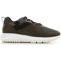 Cipők Férfi Rövid szárú edzőcipők Hogan HXM3710AQ10JIU737D color Mimetico