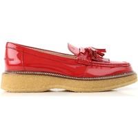Cipők Női Mokkaszínek Tod's XXW30B0AK700W0R402 Rosso vivo