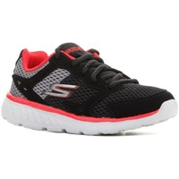 Cipők Gyerek Rövid szárú edzőcipők Skechers GO Run 400 Czarne