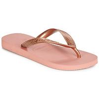 Cipők Női Lábujjközös papucsok Havaianas TOP TIRAS Rózsaszín